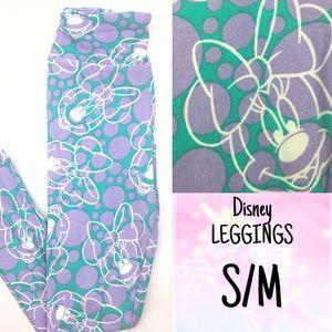 LuLaRoe KIDS s/m Leggings DISNEY Minnie Mouse New